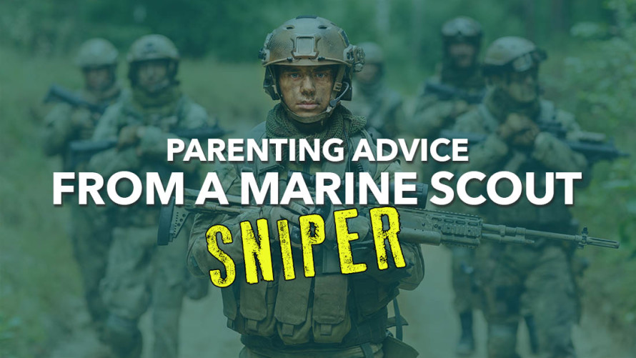 Marine sniper podcast interview on the Parenting Ninja